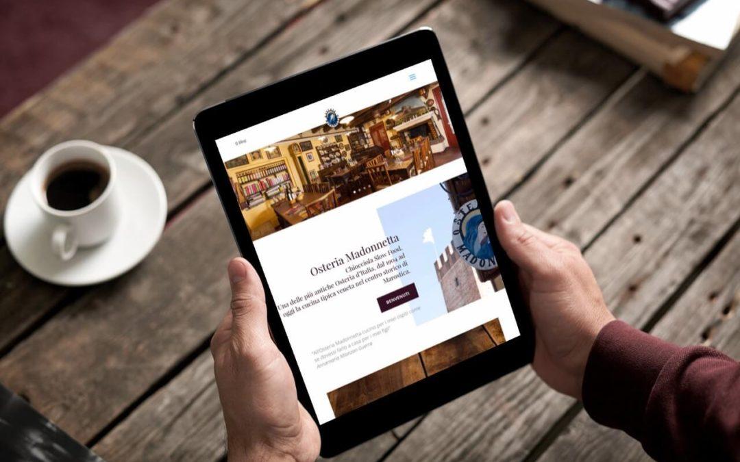 Anno nuovo, sito web Madonnetta nuovo